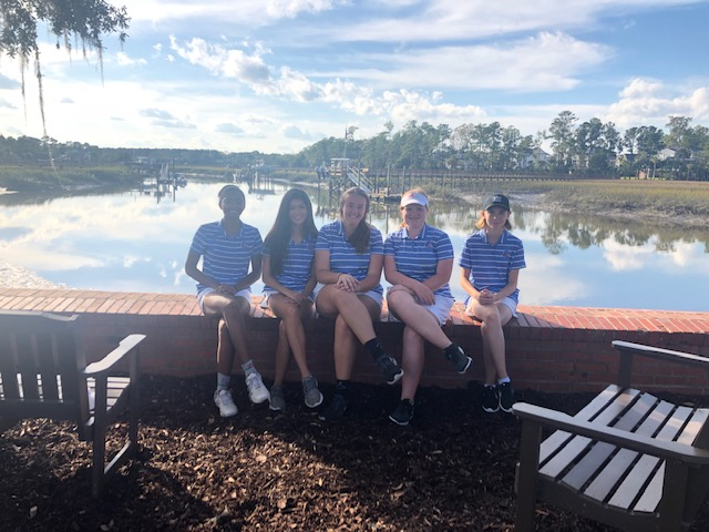 Lady Trojan Golfers Compete at Region