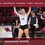 JI Alum Savannah Roper Hits The Court in NCAA Volleyball Playoffs