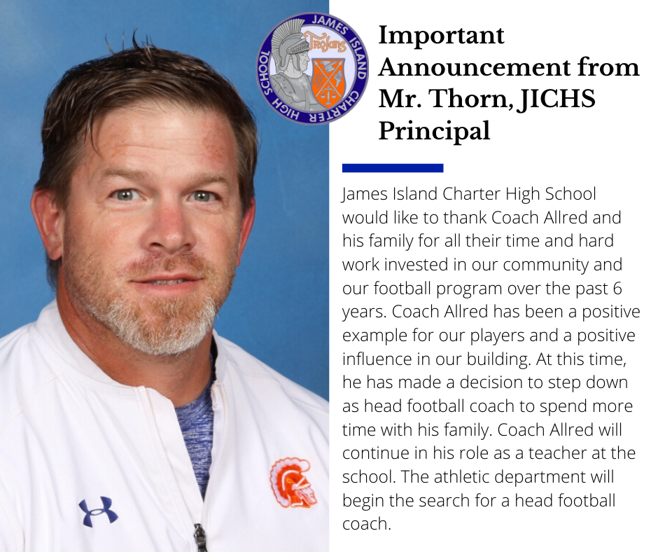 JICHS Football Coach Message