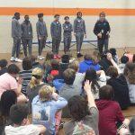JI Boys Basketball Visits Camp Road Middle School