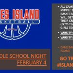 Basketball Middle School Night