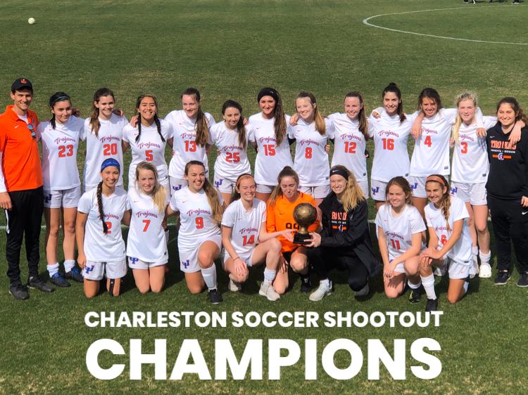 Girls Soccer wins Charleston Soccer Shootout