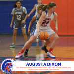 Augusta Dixon Selected to Represent SC at Carolinas Classic Game