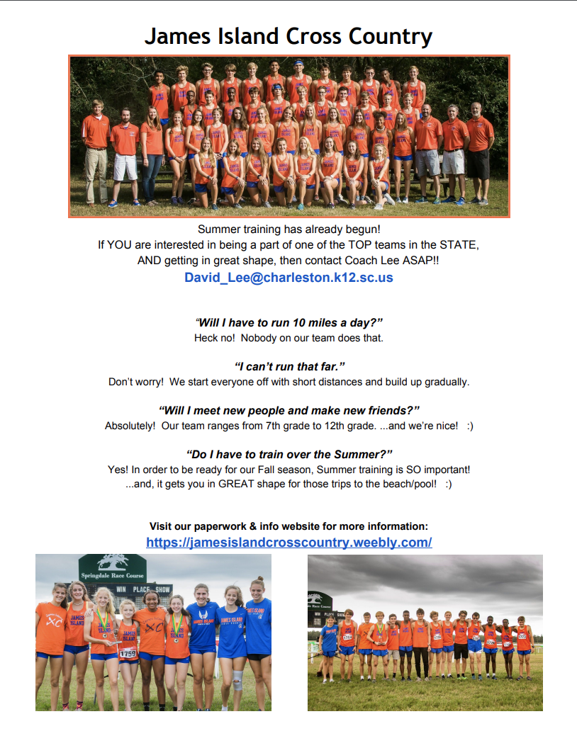 XC Summer Training Information