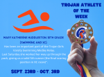 JICHS Athlete of the Week – September 28