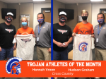 TROJAN ATHLETES OF THE MONTH