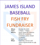 James Island Fish Fry Ticket