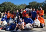 Trojans Wrestlers Clean Up The Community