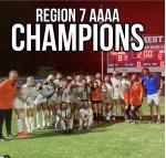 Region 7 4A Womens Soccer Champions