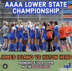 JICHS Women's Lower State Match is TONIGHT!!
