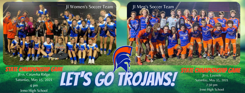 Women and Men's Soccer State Championship Matches This Saturday!