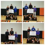 Boys Varsity Wrestling finishes 4th place at Invitational @ West Delaware High School