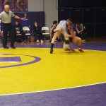 Boys Varsity Wrestling falls to Indianola 54 – 21