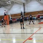 Girls 7th Grade Volleyball ties Newton-Berg Middle School 6 – 6