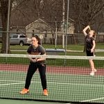 Girls Varsity Tennis beats Newton 10 – 1