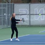 Girls Varsity Tennis falls to Indianola 6 – 5