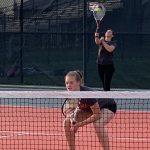 Girls Varsity Tennis falls to Norwalk Community 6 – 5