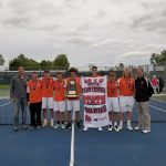 Boys Varsity Tennis beats Fort Madison 5 – 2 to go to State. Lose to Pella in Quarter Finals.