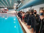 Boys Varsity Swimming beats Boone 86 – 84