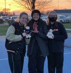 Girls Varsity Tennis beats Dike-New Hartford 6 – 3