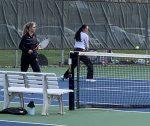 Girls Varsity Tennis falls to Pella 7 – 4