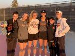 Girls Varsity Tennis beats Oskaloosa 6 – 5 on Senior Night