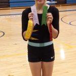 Gaithersburg Sr High School Girls Varsity Gymnastics finishes 3rd place