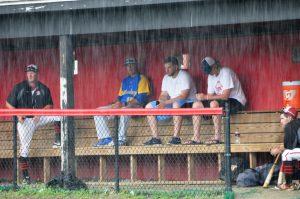 Boys Varsity Baseball 2017 Rain Delay @ Quince Orchard
