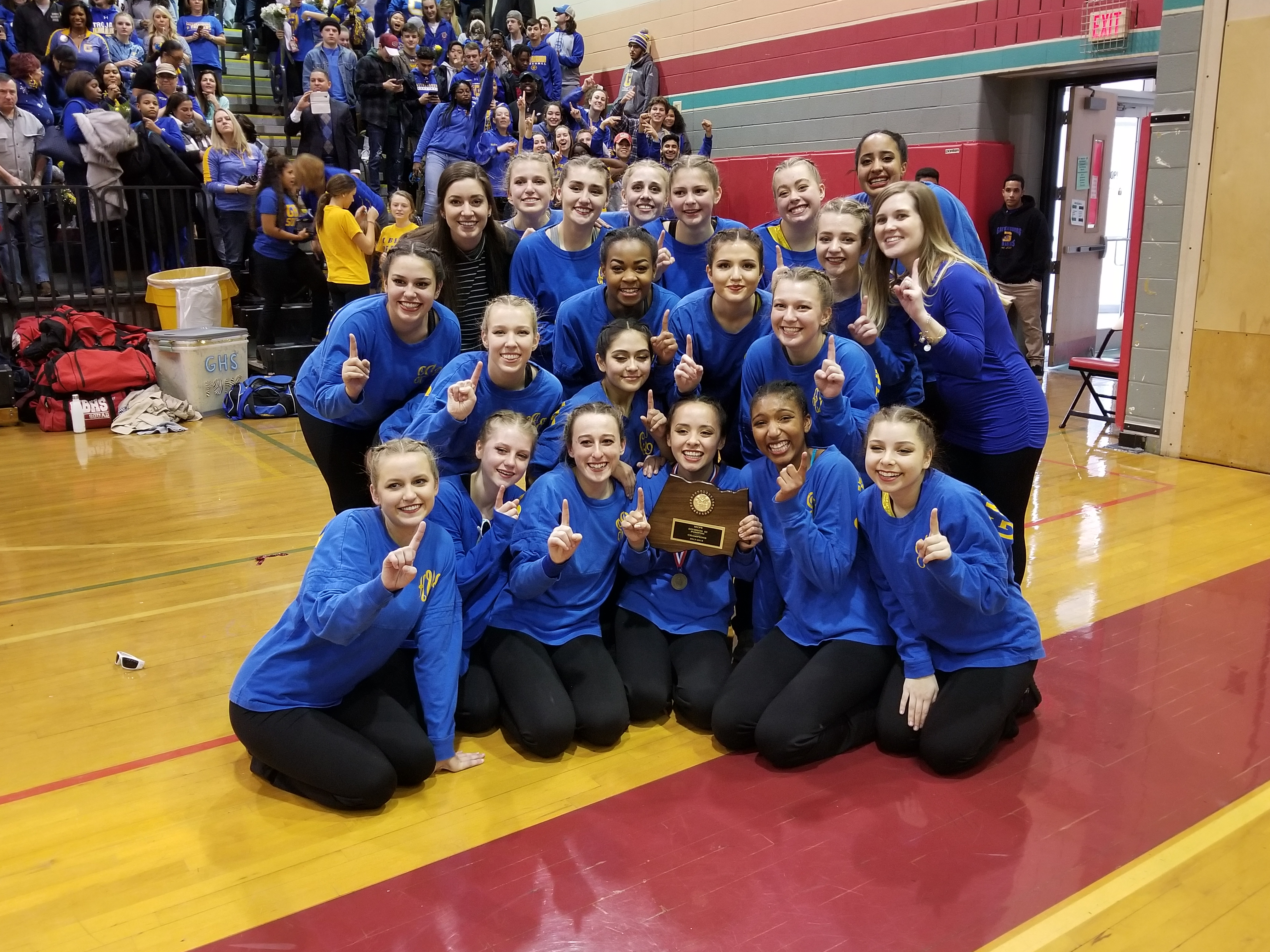 Poms are Division 3 Champions