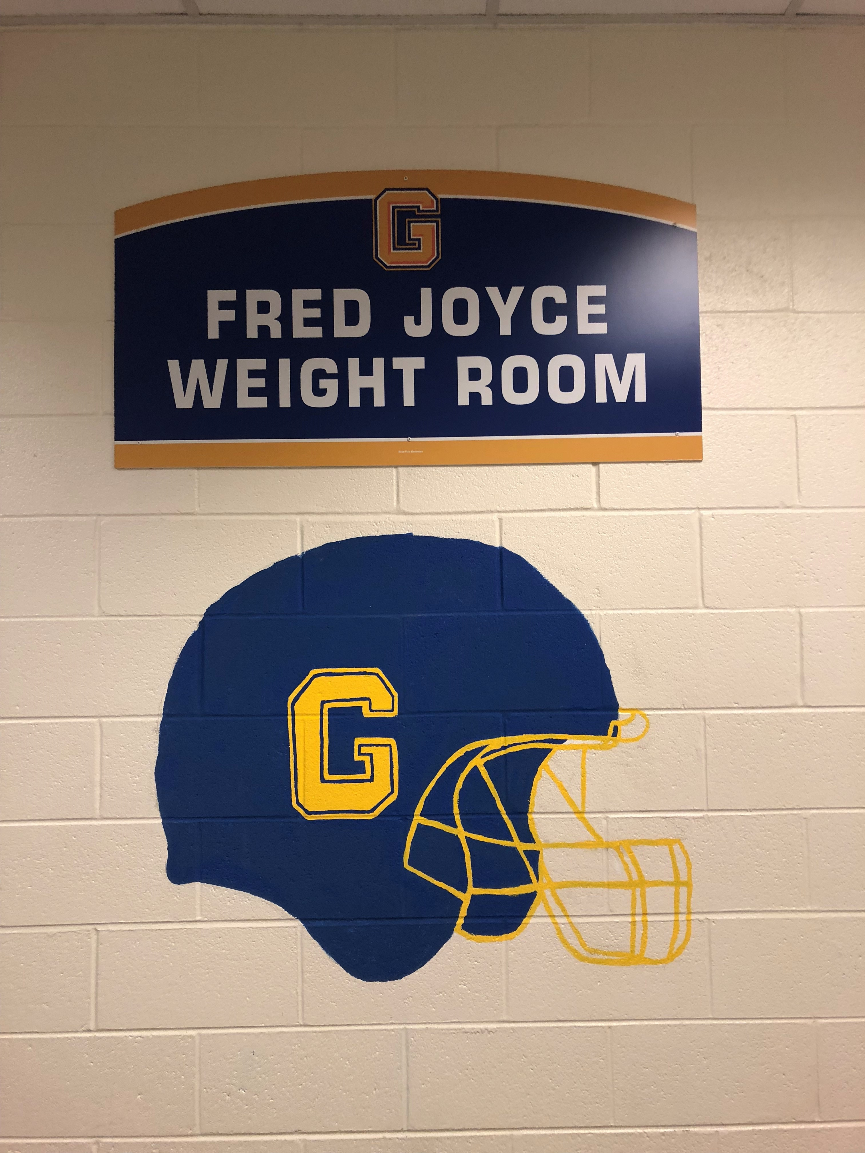 Fred Joyce Weight Room