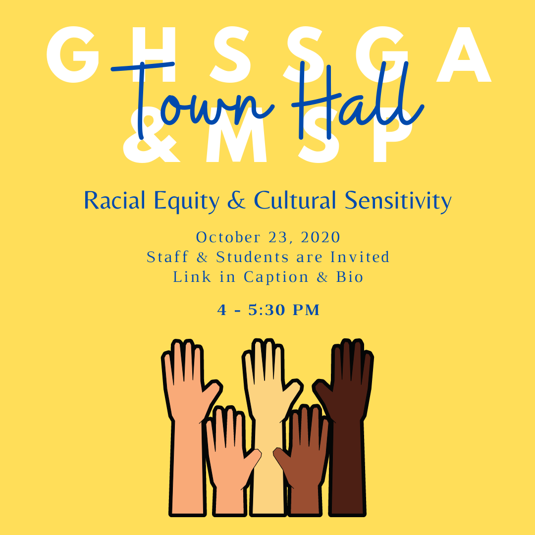 GHS Town Hall on Racial Equity and Cultural Sensitivity