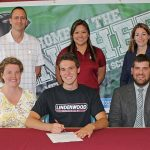 Austin Mungle signs to Swim at Lindenwood Belleville!