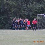 Mehlville High School Boys Varsity Soccer beat Webster Groves High School 2-1