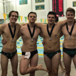 Boys Swim Team picks up Four Medals