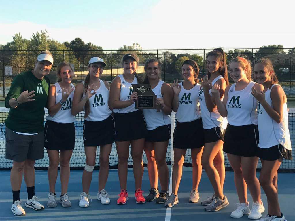 Girls Tennis – District Champs
