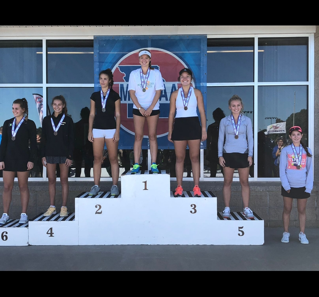 Alyson Piskulic finished 3rd place in the State in Girls Tennis