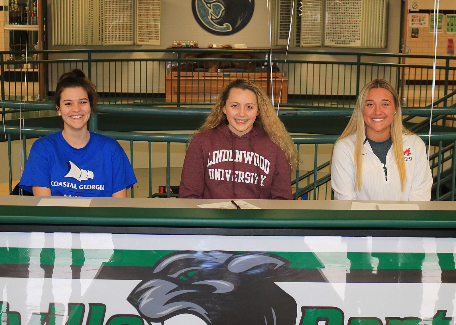 Volleyball Players commit to play in College