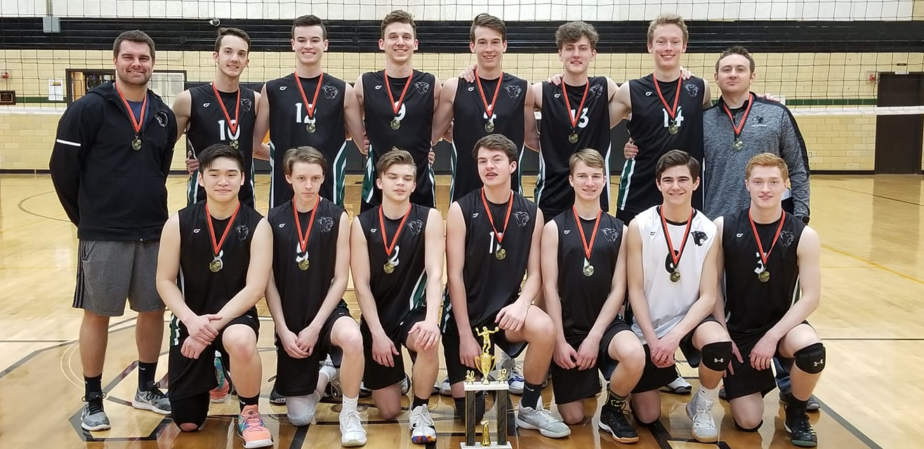 Boys Volleyball takes 1st place in the Southside Classic