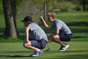 4-22-19 – Varsity Golf vs Ladue