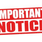 Changes to Participation in Athletics – PLEASE READ