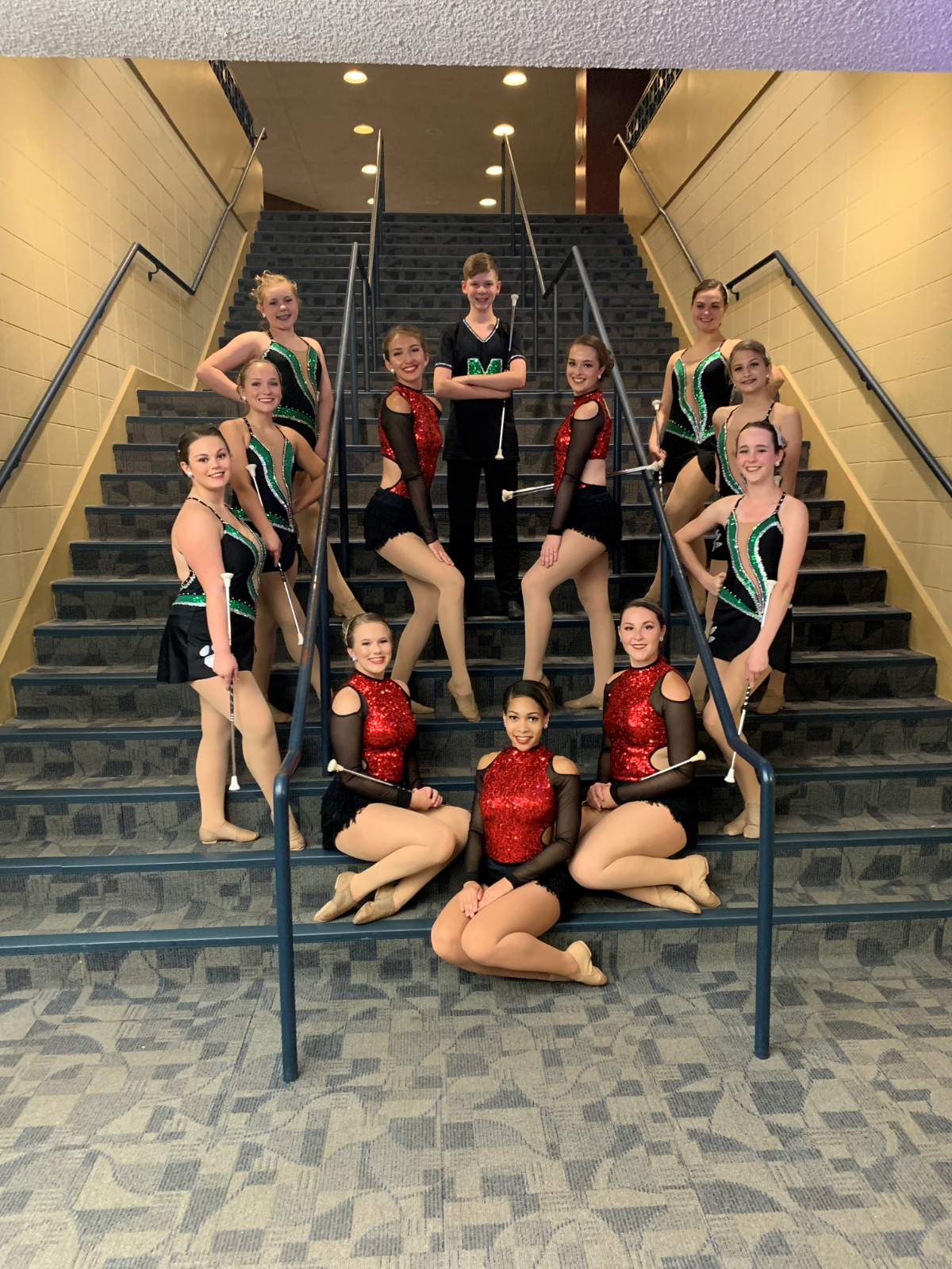 The Mehlville Majorettes Are Multi National Champions!