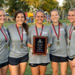 Girls Cross Country takes 1st Place at Hazelwood West Invitational