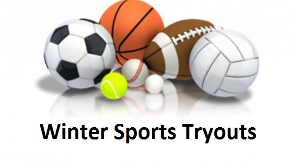 Winter Sports Tryouts begin November 4th
