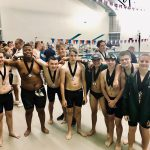 Boys Swim Team earns medals at Conference