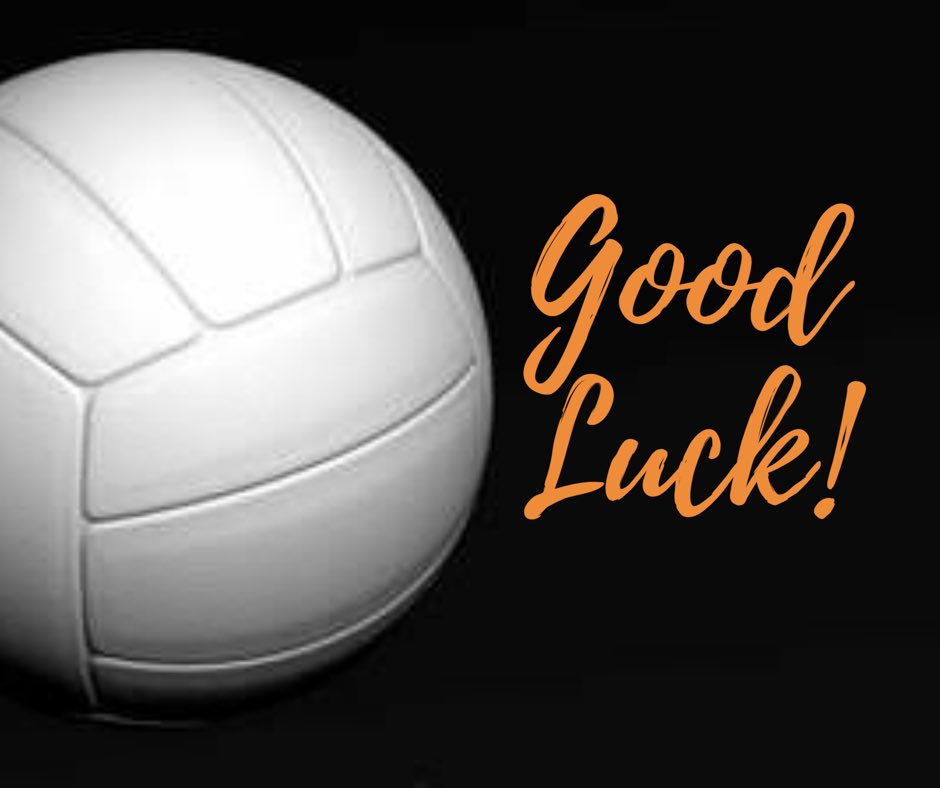 Good Luck to the Panthers Volleyball Team!
