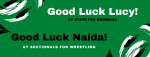 Good Luck Lucy & Naida!