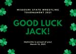 Good Luck Jack!