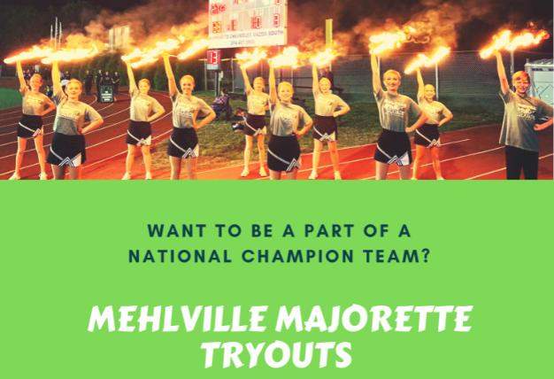 Majorette Tryouts