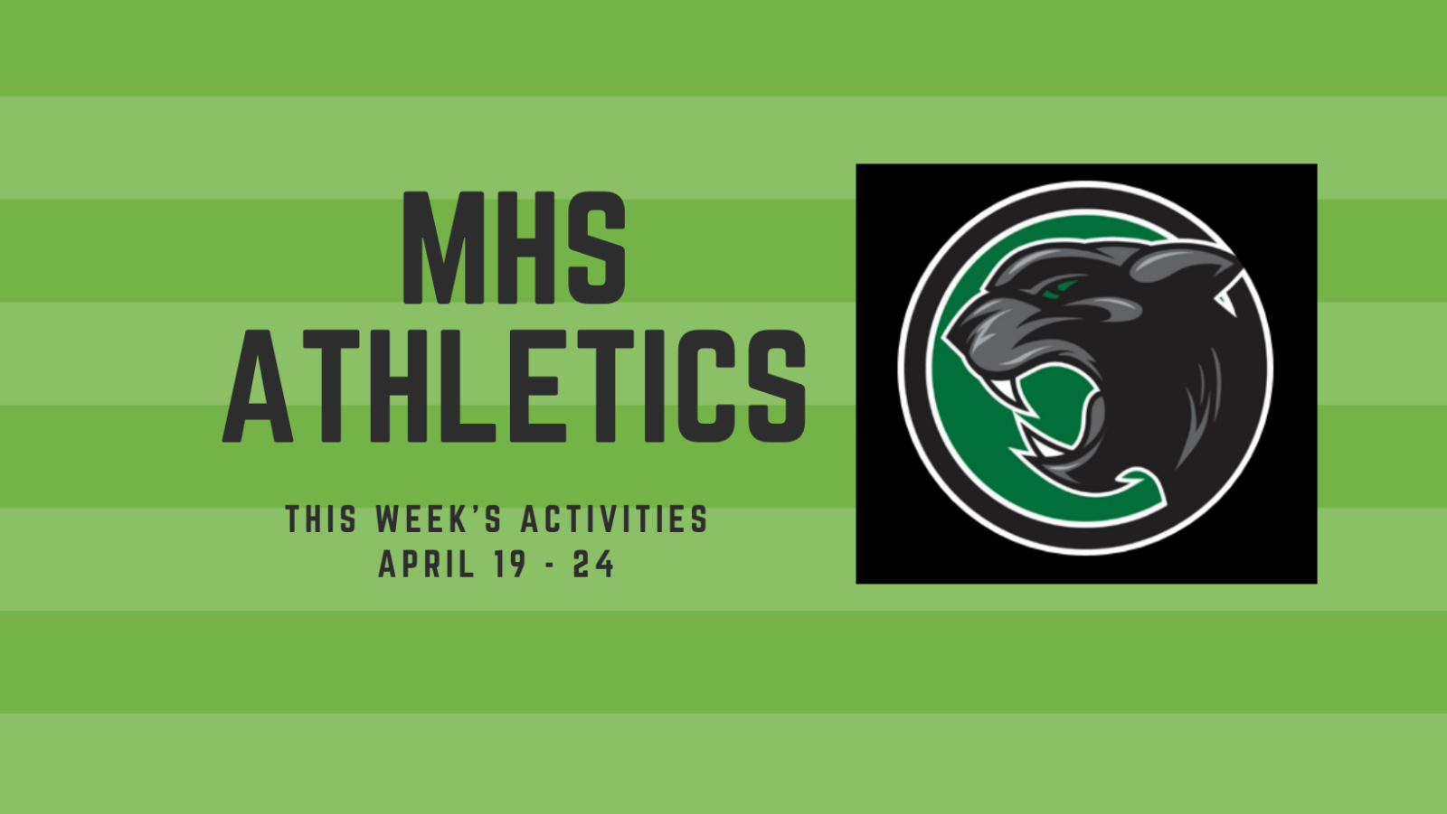 This week in sports April 19 – 24