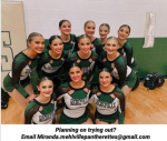 Pantherette (Dance) Tryouts Begin May 17th